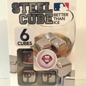 MLB Phillies Steel Engraved Cubes Better Than Ice